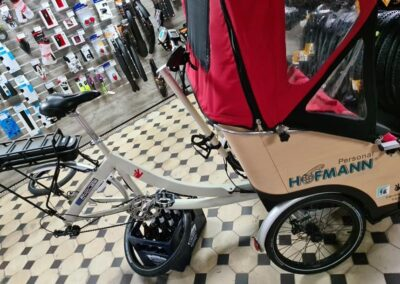 Rikscha Reparatur bei South Parkcycles