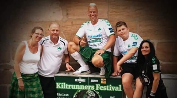 United Kiltrunners Benefizestival Ankündigung
