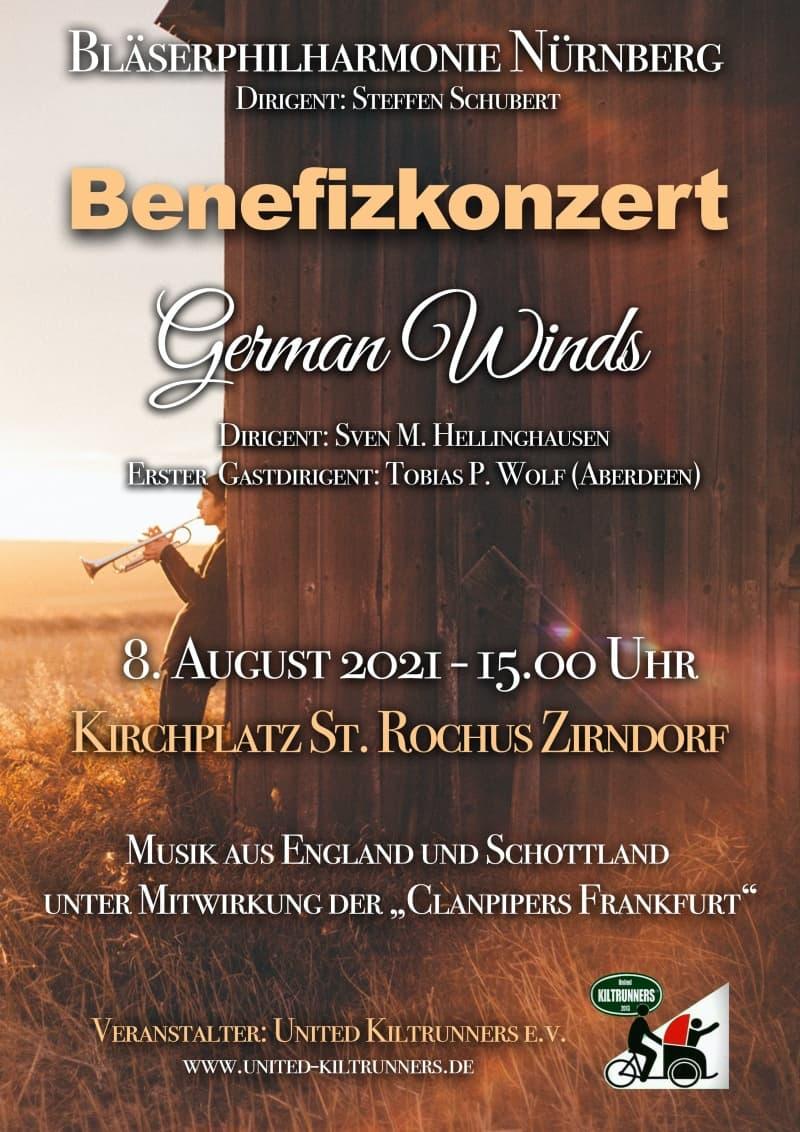 Benefizkonzert German Winds Bläser Philharmonie