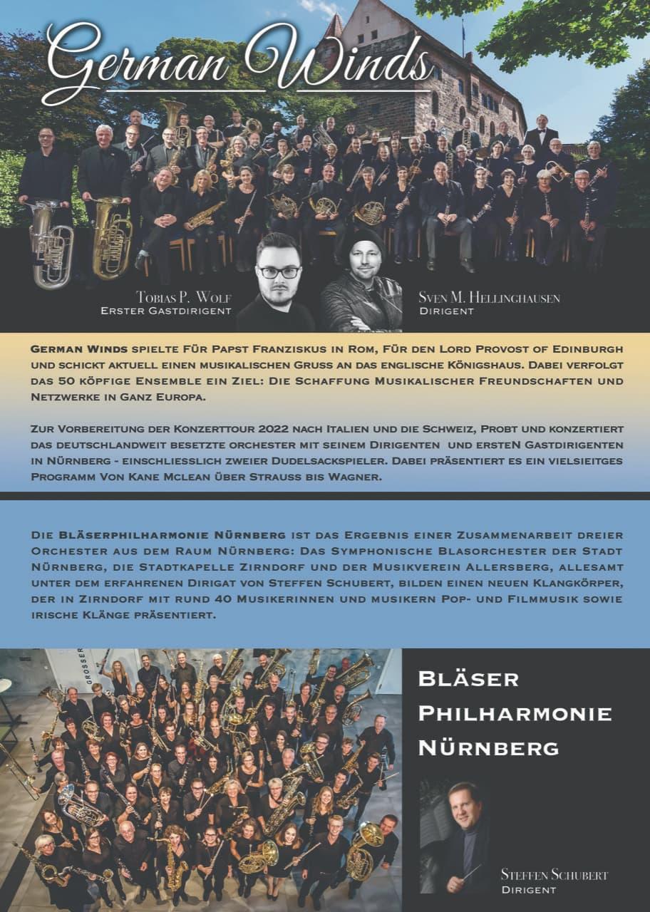 German Winds Bläser Philharmonie Nürnberg